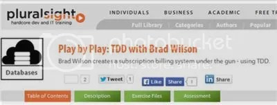 Pluralsight - Play by Play: TDD with Brad Wilson (2014)