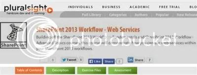 Pluralsight – SharePoint 2013 Workflow – Web Services (2014)