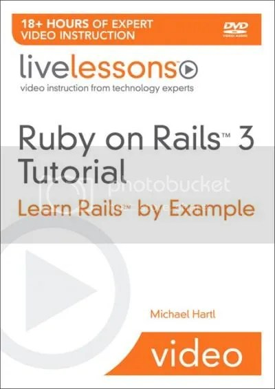 Ruby on Rails Tutorial 2nd Edition Live Lessons Training
