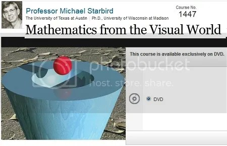 The Great Courses - Mathematics from the Visual World