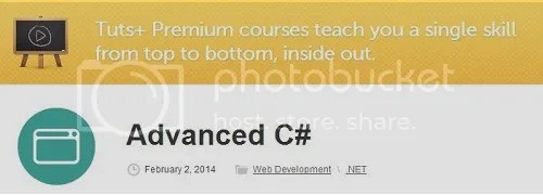 Tuts+ Premium - Advanced C#