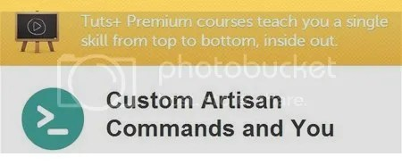 Tuts+ Premium - Custom Artisan Commands and You