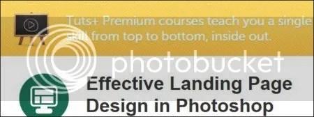 Tuts+ Premium - Effective Landing Page Design in Photoshop