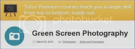 Tuts+ Premium - Green Screen Photography