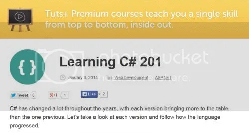 Tuts+ Premium - Learning C# 201
