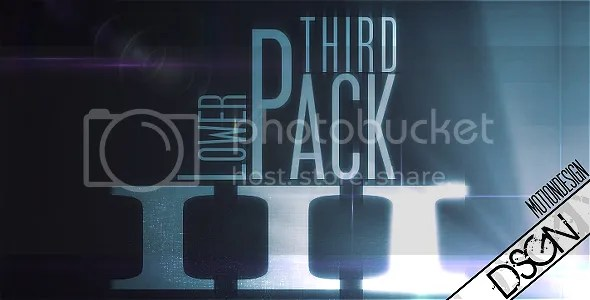 Videohive - Lower Third Pack, FULL V1 V2 V3 V4 HD AE Projects