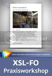 XSL-FO – Praxisworkshop Komplexe Dokumente automatisiert layouten und ausgeben