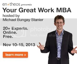 Your Great Work MBA videos hosted by Michael Bungay Stanier