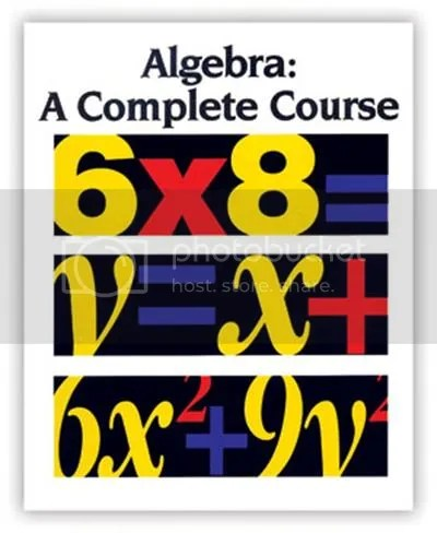 Algebra - A Complete Course