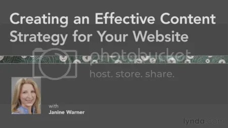 Lynda - Creating an Effective Content Strategy for Your Website