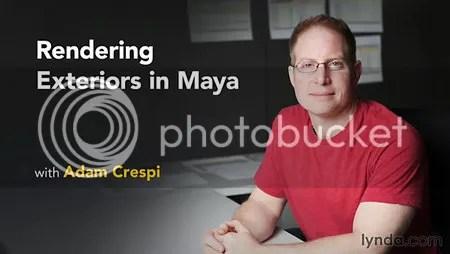 Lynda - Rendering Exteriors in Maya