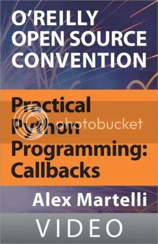 Oreilly - Practical Python Programming: Callbacks
