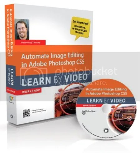 Peachpit Press - Automate Image Editing in Adobe Photoshop CS5 Learn by Video