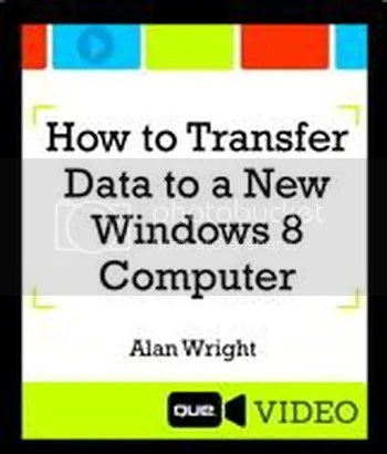 Que - How to Transfer Data to a New Windows 8 Computer