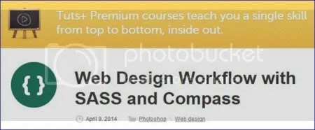 Tuts+ Premium - Web Design Workflow with SASS and Compass