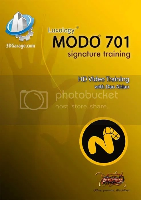 3DGarage – MODO 701 Signature Courseware