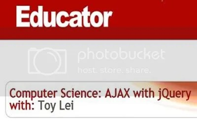 Educator - Computer Science: AJAX with jQuery