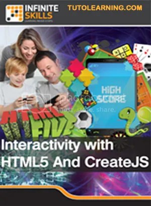 InfiniteSkills – Interactivity with HTML5 And CreateJS