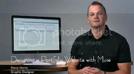Lynda - Designing a Portfolio Website with Muse
