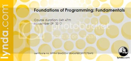 Lynda - Foundations of Programming: Fundamentals