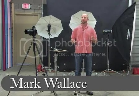 Mark Wallace LIVE – Working with Speedlights in the Studio