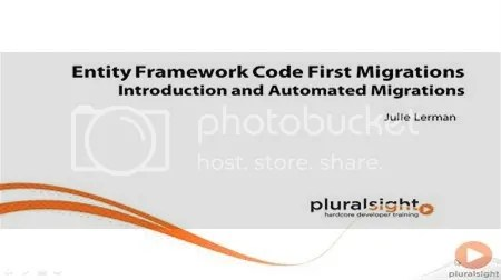 Pluralsight - Entity Framework Code First Migrations