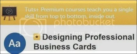 Tutsplus – Designing Professional Business Cards