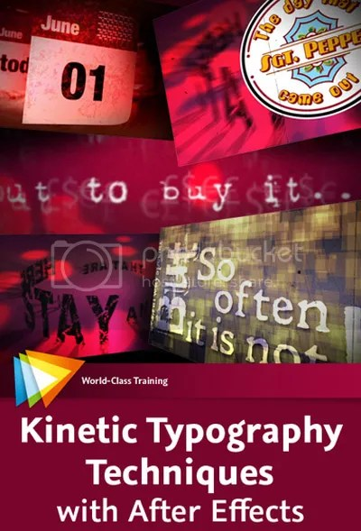Video2Brain - Kinetic Typography Techniques with After Effects