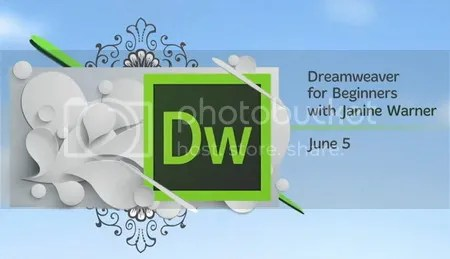 creativeLIVE – Dreamweaver for Beginners with Janine Warner
