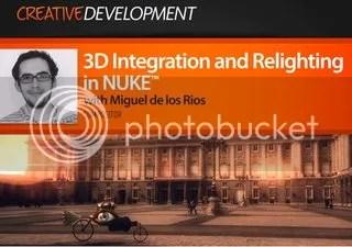 Digital Tutors – 3D Integration and Relighting in NUKE