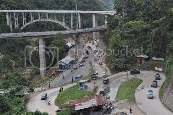 JembatanLayangKelokSembilan Kelok Sembilan Sumatra Barat Kini