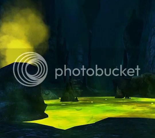 Underdark acid pool