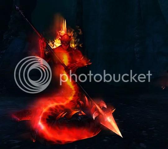 Underdark Salamander Firebrand
