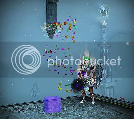 Violet cube!