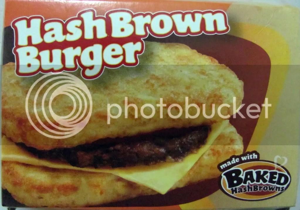 Jollibee's Hash Brown Burger