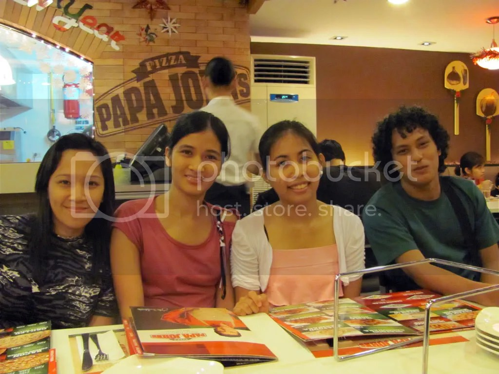 Tin, Beth, Angel, and Japet