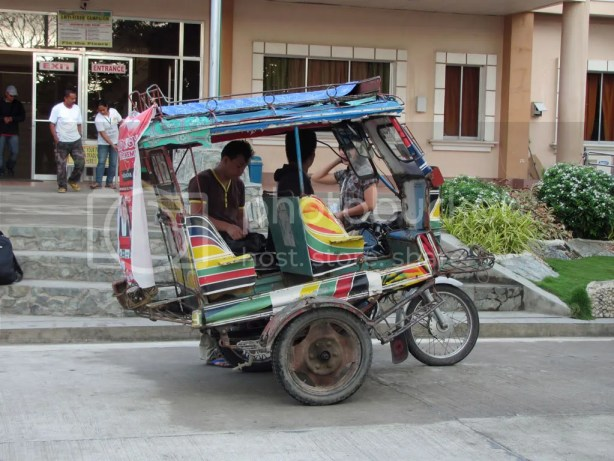 This is what their tricycle looks like.