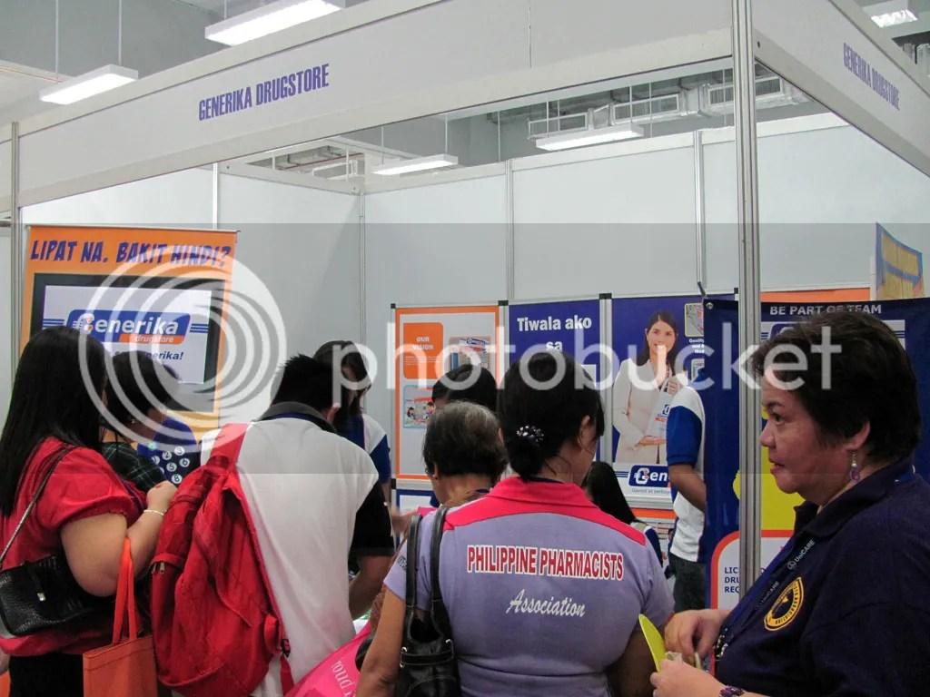Generika Exhibit Booth