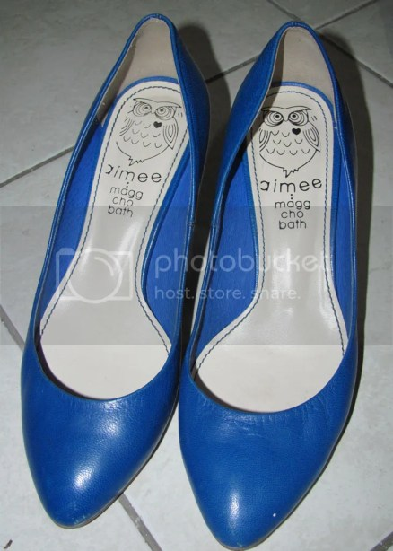 Blue Pumps bought for P125