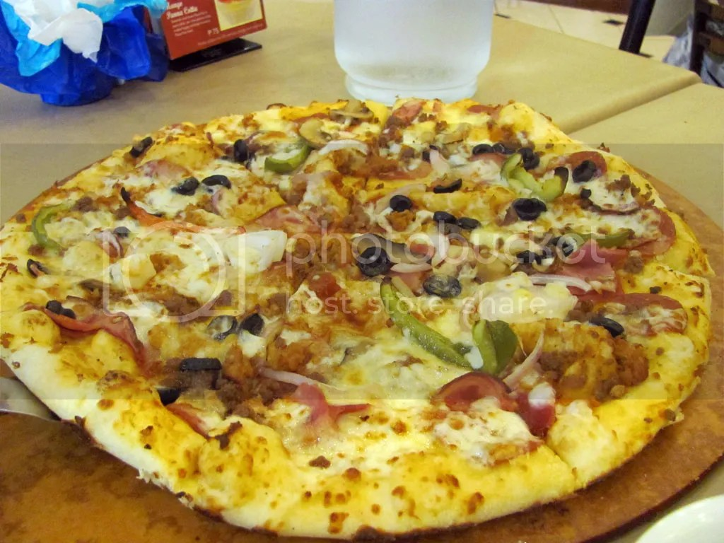Supremo Tuscani Pizza