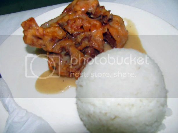 Buttered Chicken with Rice