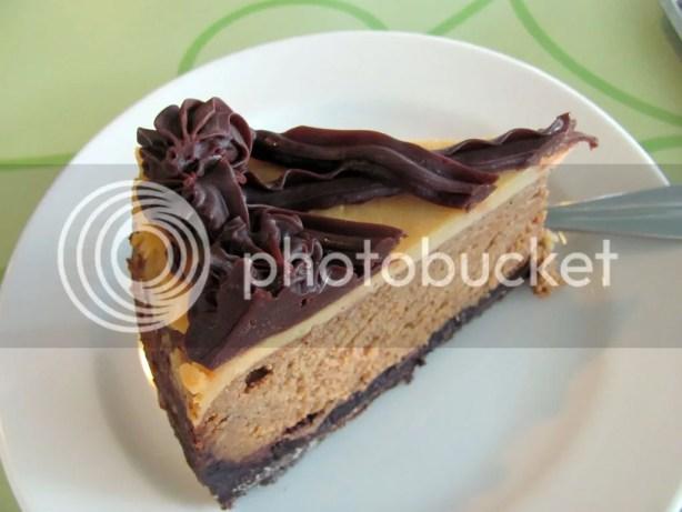 Coffee Fudge Cheesecake