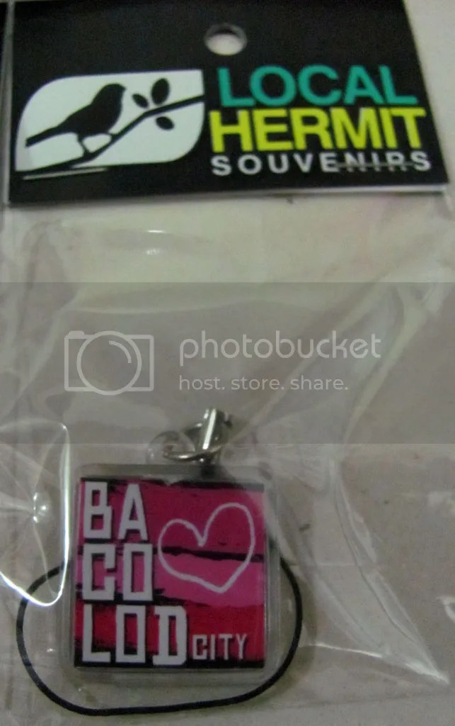 Bacolod Cellphone Charm for Me