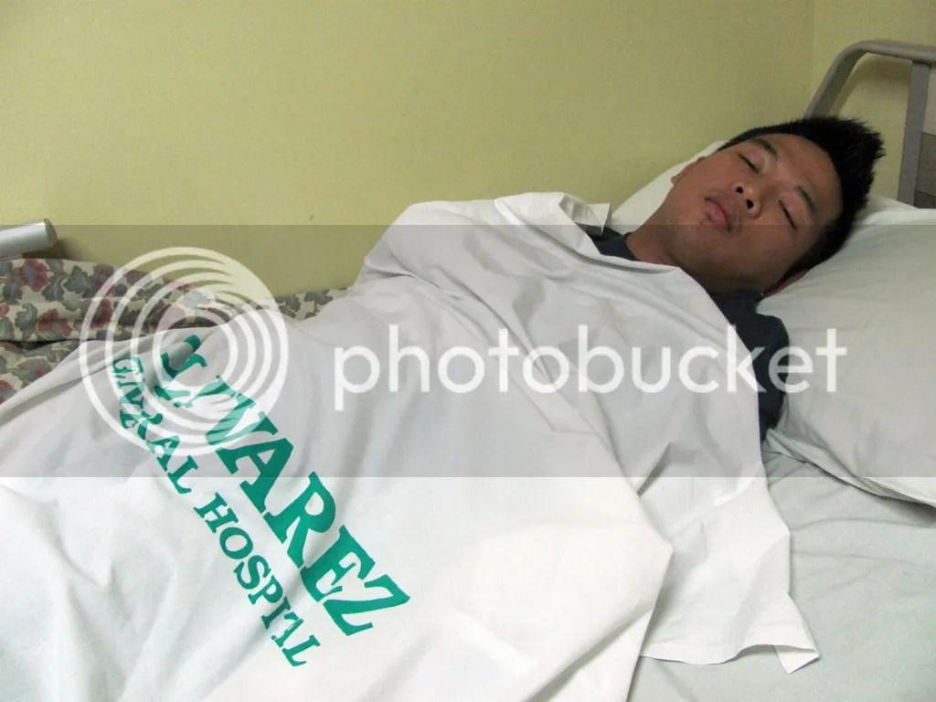 Sick with Dengue