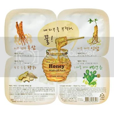 Etude House I Need You, Honey! Wash-off Pack