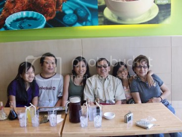 With Sanchez Family