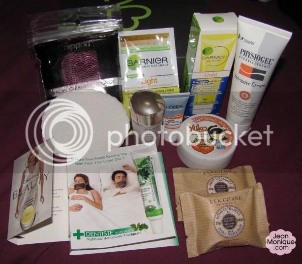 Contents of November 2012 BDJ Box