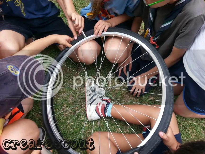 riparazione gomma bicicletta