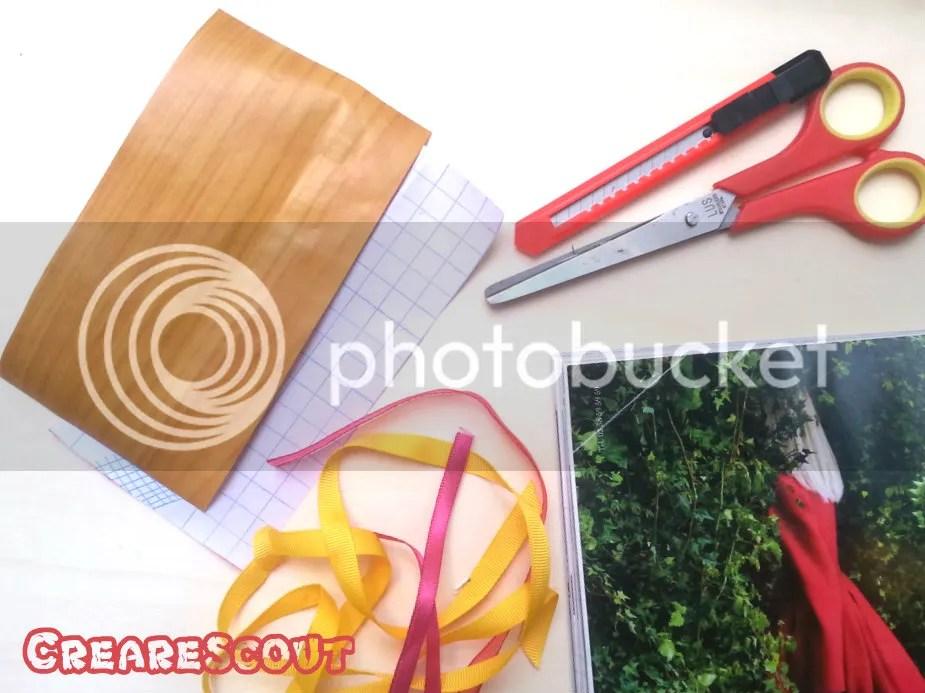 materiale per segnalibri finto legno