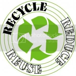 riciclo riuso recycle reduce reuse